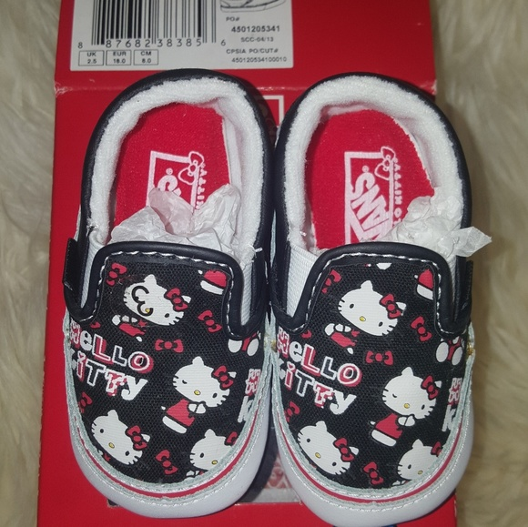 e65c908a90 Infant size 3 Hello Kitty Vans